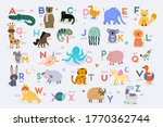 vector poster with letters of... | Shutterstock .eps vector #1770362744