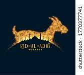 bakrid eid al adha festival...   Shutterstock .eps vector #1770377741