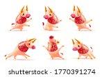 chinese new year mascot  ... | Shutterstock .eps vector #1770391274