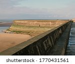 The Seawall In Blackpool With...