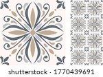 seamless azulejo tile.... | Shutterstock .eps vector #1770439691
