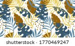 trendy seamless pattern with... | Shutterstock .eps vector #1770469247