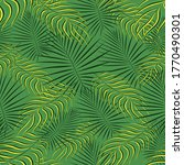 exotic tropic pattern. tropical ... | Shutterstock .eps vector #1770490301