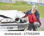 Adult Upset Driver Man...