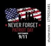 patriot day illustration. we...   Shutterstock .eps vector #1770521681