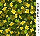 pattern rape flowers  canola.... | Shutterstock .eps vector #1770522437