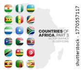 african countries flags vector... | Shutterstock .eps vector #1770557117