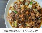korean pork barbeque with...