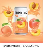 peach  and design of peach...   Shutterstock .eps vector #1770650747