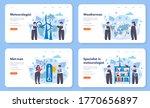 meteorologist web banner or... | Shutterstock .eps vector #1770656897
