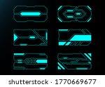 frame set technology future...   Shutterstock .eps vector #1770669677