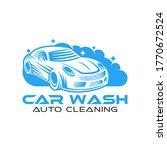 car wash logo vector... | Shutterstock .eps vector #1770672524
