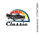 classic car logo badge and...   Shutterstock .eps vector #1770672881