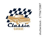 classic car logo badge and... | Shutterstock .eps vector #1770672887