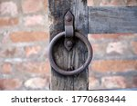 Detail Of Old Wooden Gate....