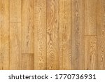 Close-up of engineered oak floorboards. Wood background