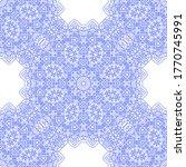 blue white delicate openwork... | Shutterstock .eps vector #1770745991