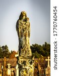 Ancient Statues Of The Mother...