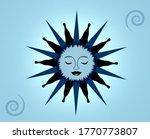 Illustration Of A Blue Moon...