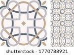 seamless azulejo tile.... | Shutterstock .eps vector #1770788921