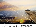 power plant using renewable... | Shutterstock . vector #177083879