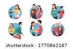 young   senior couple... | Shutterstock .eps vector #1770862187