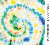 spiral blur. circle rainbow... | Shutterstock .eps vector #1770877097