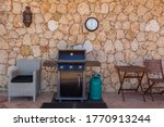 Home Gas Grill With Cylinder ...