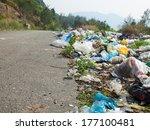 Spontaneous Garbage Dump Along...