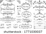 label and border design... | Shutterstock .eps vector #1771030037