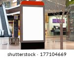 citilayts with blank screen... | Shutterstock . vector #177104669