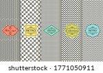 set of seamless geometric... | Shutterstock .eps vector #1771050911