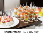catering for wedding | Shutterstock . vector #177107759