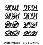vector illustration  set of... | Shutterstock .eps vector #1771125947