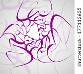 tribal tattoo   abstract... | Shutterstock .eps vector #177112625