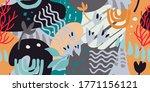 abstract art seamless pattern ... | Shutterstock .eps vector #1771156121
