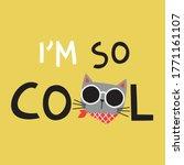tee print design for kids... | Shutterstock .eps vector #1771161107