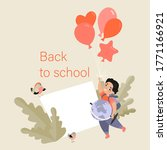 back to school concept. vector... | Shutterstock .eps vector #1771166921