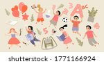 back to school concept. set of... | Shutterstock .eps vector #1771166924
