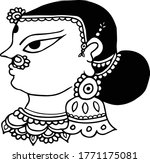 Beautiful Women Face Clip Art...