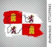 Flag Of Castile And Leon From...