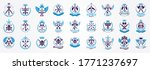 vintage weapon vector logos or... | Shutterstock .eps vector #1771237697