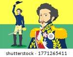 illustration depicting d. pedro ... | Shutterstock .eps vector #1771265411