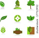 collection of nature icons | Shutterstock .eps vector #17712952