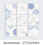 social media banners with blue... | Shutterstock .eps vector #1771319351