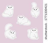 set of stickers  patches ... | Shutterstock .eps vector #1771330421