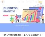 business statistics flat...