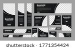 set of creative web banners of... | Shutterstock .eps vector #1771354424