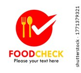 food check logo design template ... | Shutterstock .eps vector #1771379321