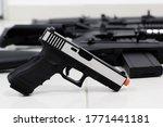 Arisoft guns the main one being ...